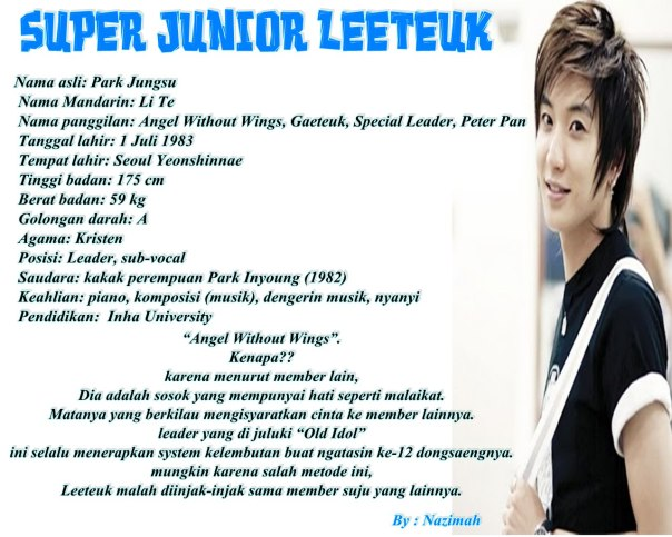 leeteuk WhiteUWallpaper
