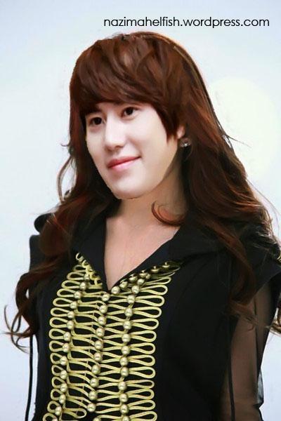 Cho Kyuhyun genderswitch by Nazimah Elfish