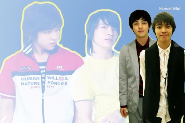 Kibum and Donghae wallpaper by Nazimah Elfish (2)