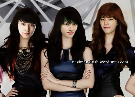 Super junior member genderswitch by nazimah elfish (1)