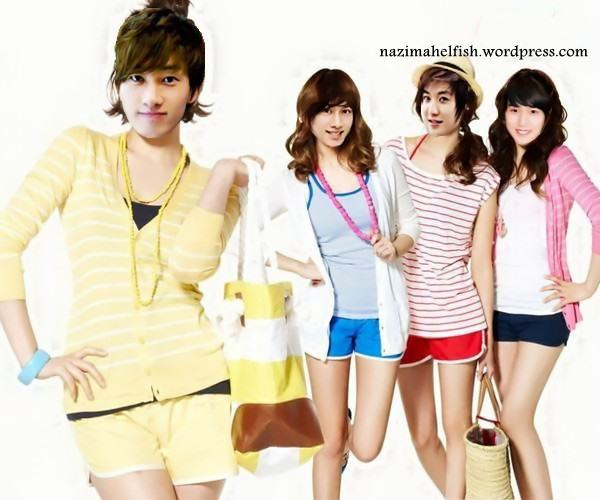 Super junior member genderswitch by nazimah elfish (2)