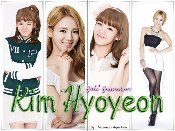 Girls Generation Hyoyeon Wallpaper by Nazimah Agustina