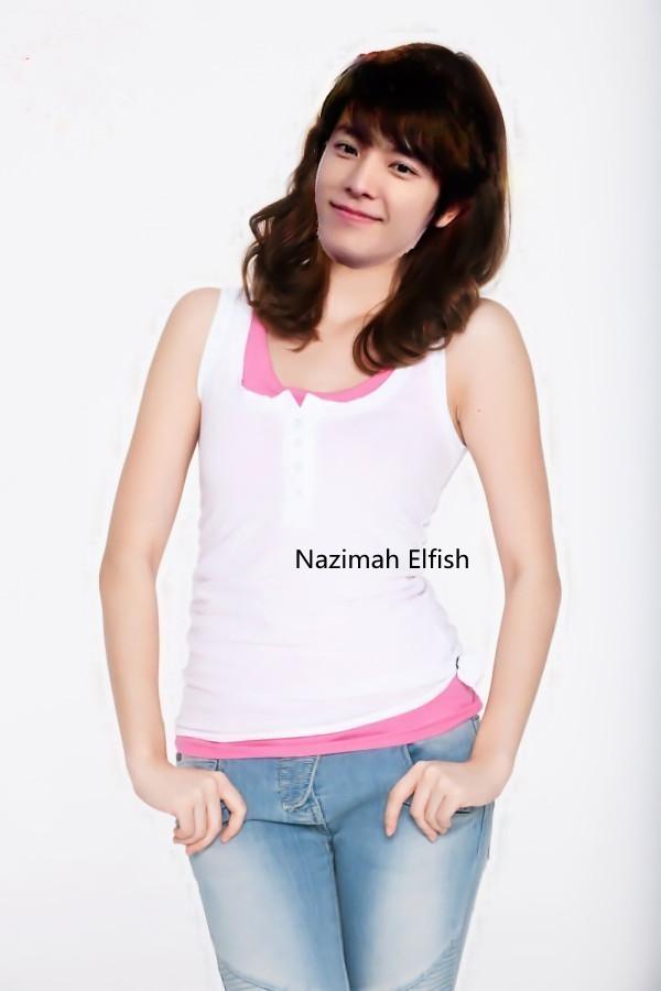 Lee Donghae jika jadi cewek by Nazimah Elfish