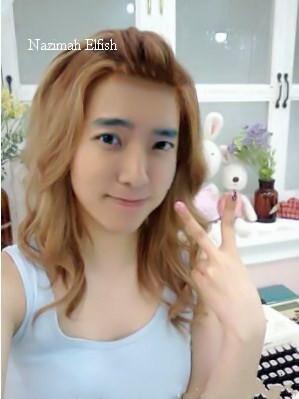 Suju Donghae Selca Genderswitch by Nazimah Elfish