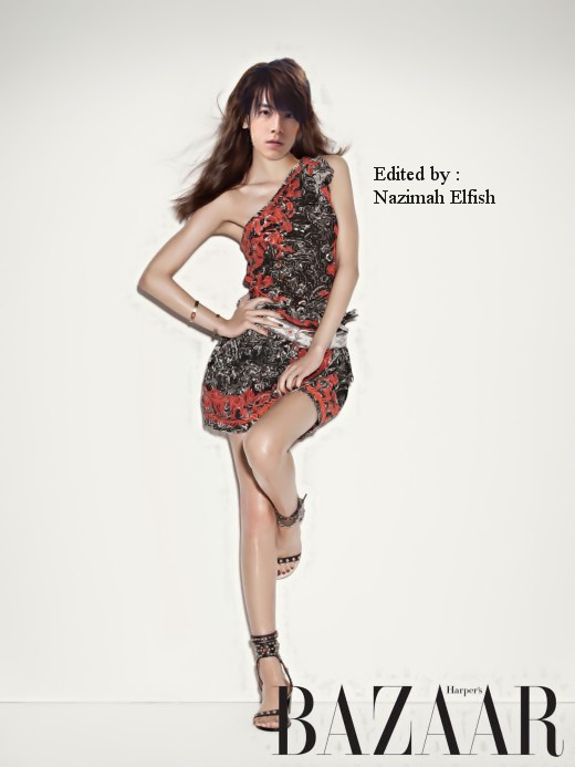 Lee Donghae cover girl by Nazimah Elfish