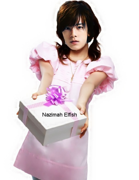Lee Donghae sweet gift by Nazimah Elfish