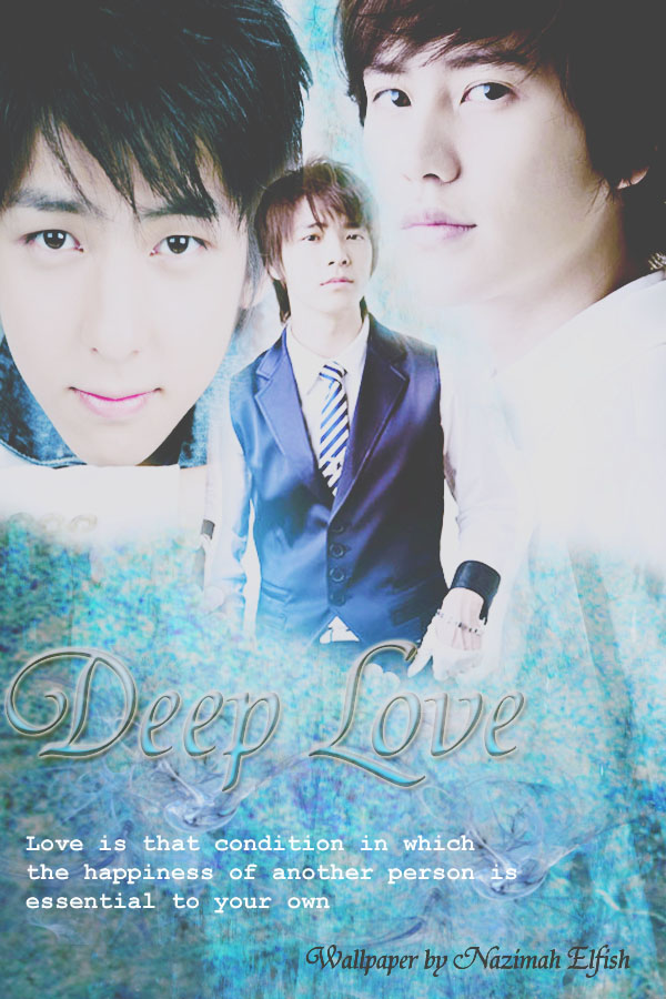 deep love cover fanfiction kihaekyu by Nazimah Elfish