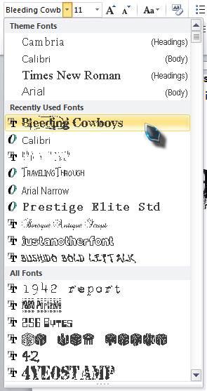 mengatasi kesulitan saat menginstall font pack 5