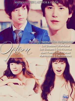 OPTION kihae kimin kyumin kyuhae yunhae tentang donghae hidup bersama suami dan madu dia juga mantan kekasih yang masih mengharapkannya, juga rencana dengan sang pengacara merebut kembali harta yang telah dicuri dari orang tua