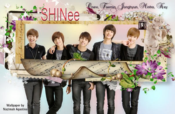 the simple shinee wallpapers by Nazimah Agustina