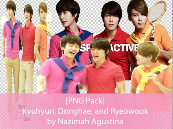 Free Download PNG Pack KyuHaeWook