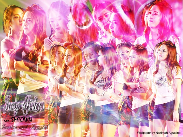Jung Sisters care in SMTOWN by Nazimah Agustina