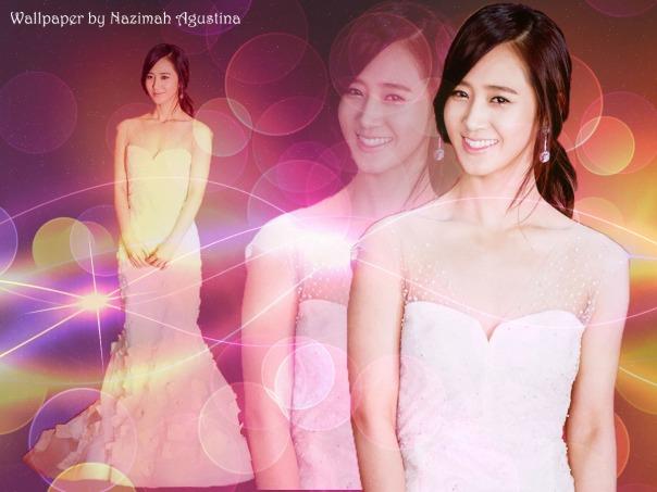 kwon Yuri SNSD elegant wallpaper by Nazimah Agustina