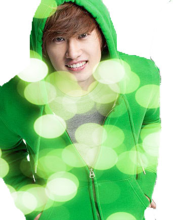 Lee Hyukjae-contoh hasil editing wallpaper lighting effect