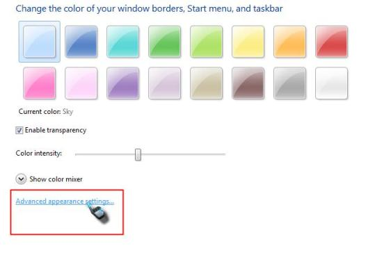 merubah font dan warna menu 2