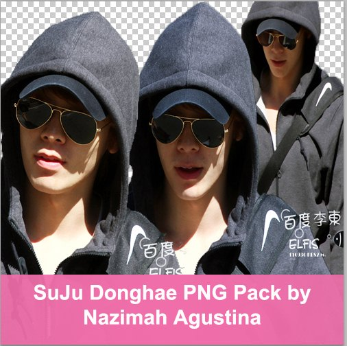 SuJu Donghae PNG Pack by Nazimah Agustina