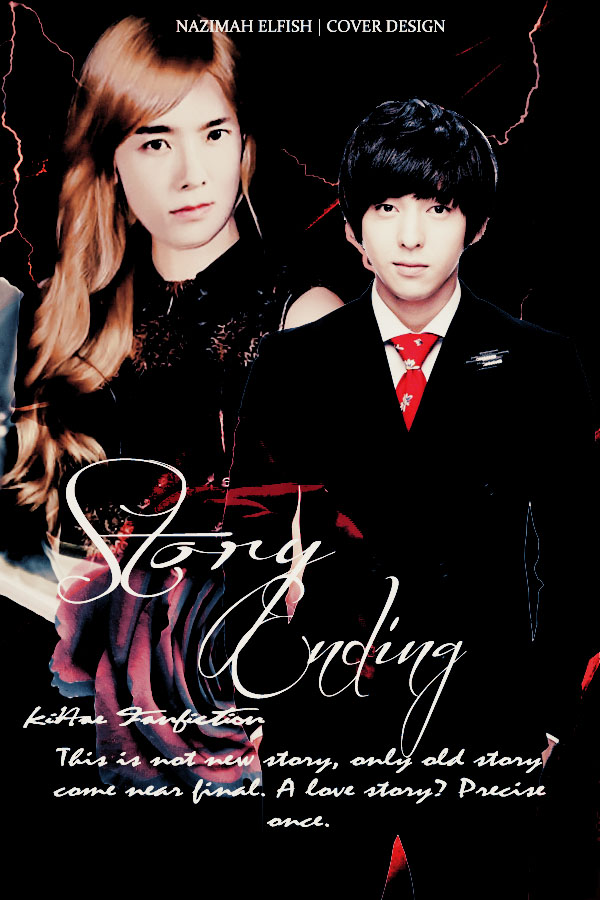 STORY ENDING COVER FANFIC KIHAE BY NAZIMAH ELFISH