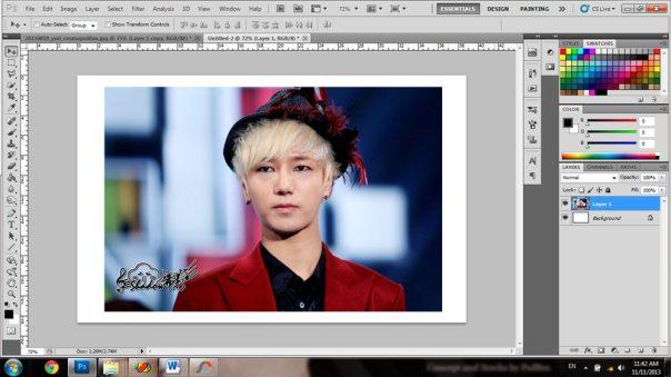 bagaimana cara merobek foto di photoshop 1