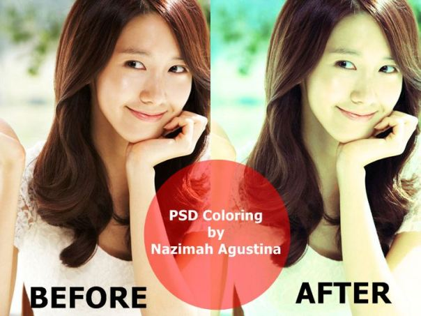 SNSD YoonA for tutorial how to make psd coloringSNSD YoonA for tutorial how to make psd coloring