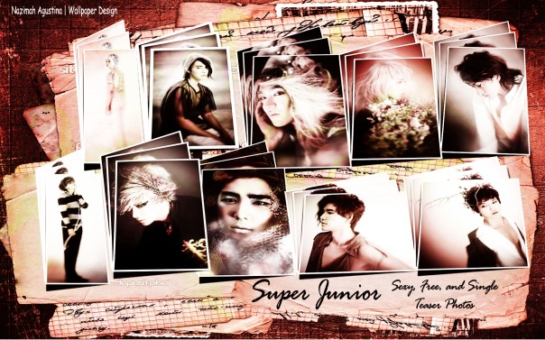 suju scrapbook for sexy free and single photos teaser wallpaper