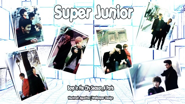 Super Junior Scrapbook for boys in city season 4 paris
