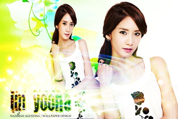 IM YOONA LIGHTING WALLPAPER BY NAZIMAH AGUSTINA