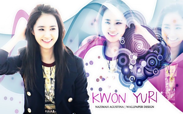 KWON YURI SIMPLE WALLPAPER BY NAZIMAH AGUSTINA