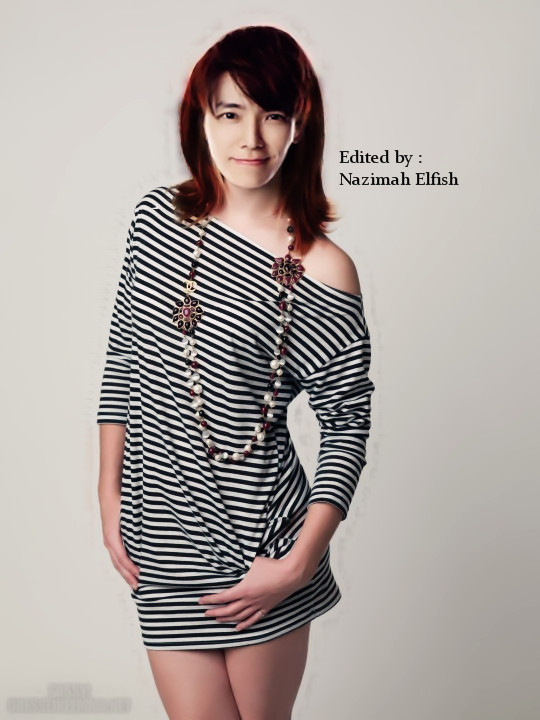 Lee Donghae as Emma Watson GS by Nazimah Elfish