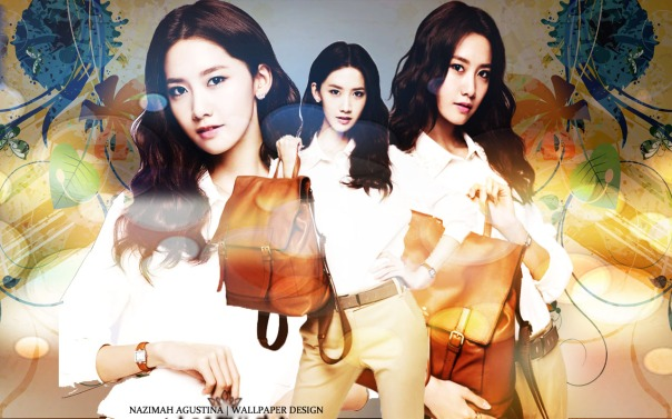 SIMPLE SNSD YOONA FOR J.ESTINA BAG GOOD LOOKING AND BEAUTY