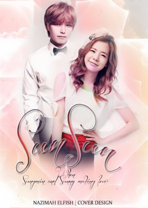 SUNSUN Cover fanfic sungmin and sunny couple romance Ketika Sungmin dan Sunny bercinta super generation by nazimah