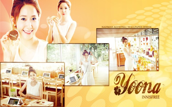 YOONA INNISFREE WALLPAPER NATURAL BY NAZIMAH AGUSTINA