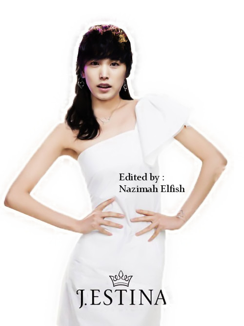 choi sooyoung GG as lee sungmin SJ dress editing korean Jestina by nazimah elfish