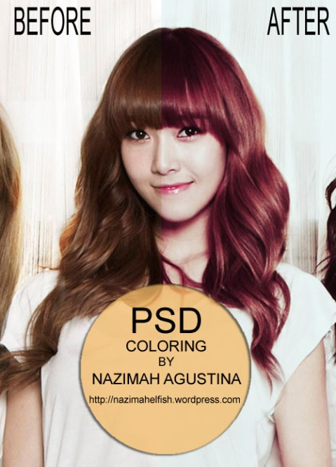 FREE DOWNLOAD PSD COLORING ANGEL VOICE OF SNSD JESSICA JUNG MIDDLE RED BY NAZIMAH AGUSTINA