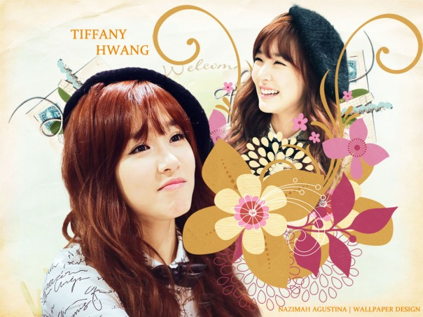 GIRLS' GENERATION TIFFANY HWANG SWEET CHOCOLATE WALLPAPER BY NAZIMAH AGUSTINA