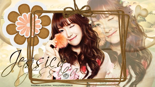 Girls' Generaton Jessica Jung Sweet Chocolate by Nazimah Agustina