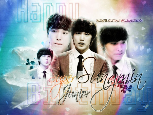 happy sungmin 29 day soft hue and light  wallpaper by nazimah agustina