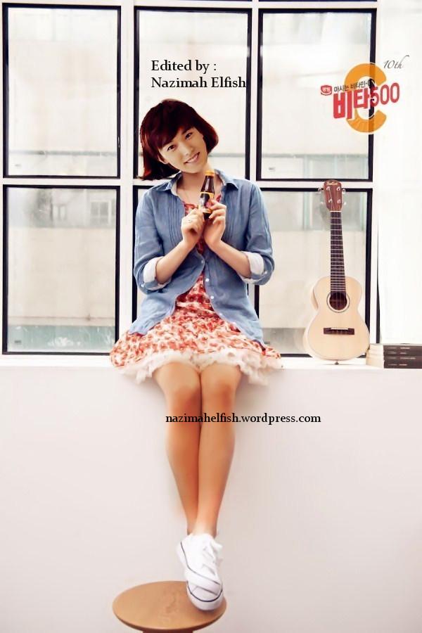 Lee Sungmin as beauty girl snsd taeyeon vita500 by nazimah elfish