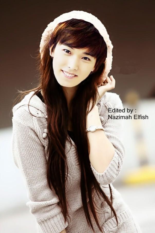 lee sungmin as korean ulzaang girl beauty cute and innocent by nazimah elfish