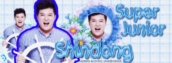 sea concept of shindong super junior blue fresh and simple mini wallpaper