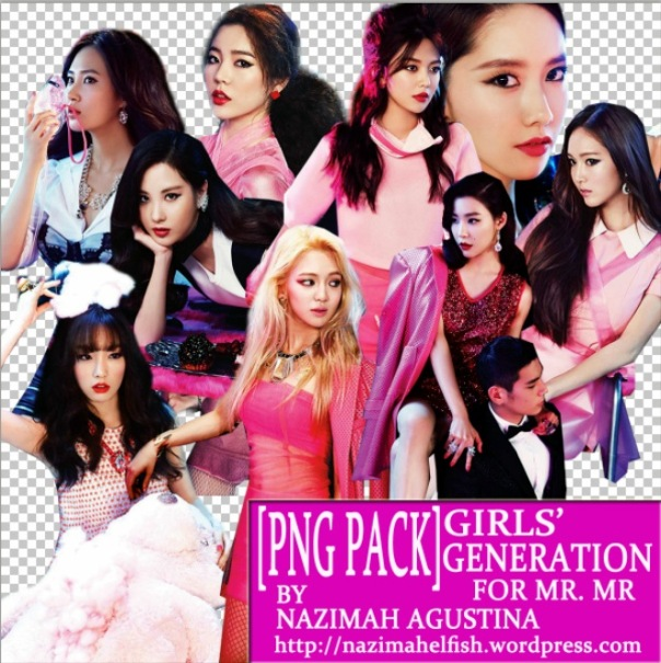 free download png pack snsd girls' generation for mr mr february 2014 by nazimah agustina