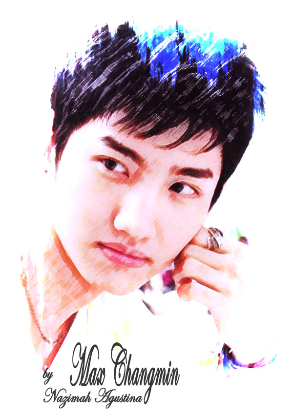 MAX CHANGMIN ON DIGITALMPAINTING BY NAZIMAH AGUSTINA