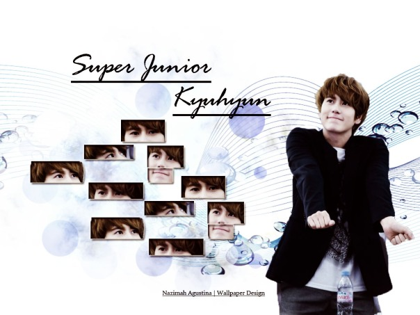 super junior kyuhyun simple cute wallpaper by nazimah agustina