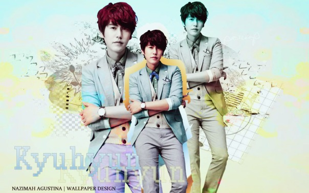 super junior kyuhyun soft elegant wallpaper by nazimah agustina
