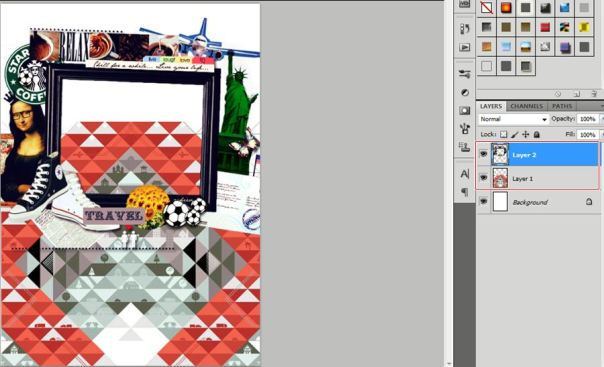 how to make fancy cover usingadobe photoshop 2