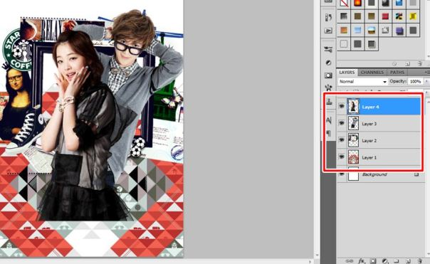 how to make fancy cover usingadobe photoshop 3