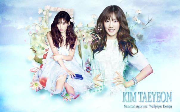 Kim Taeyeon Soft Wallpaper by Nazimah Agustina