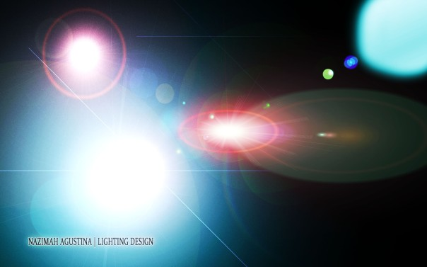 lighting lens flare background wallpaper garphic design by nazimah