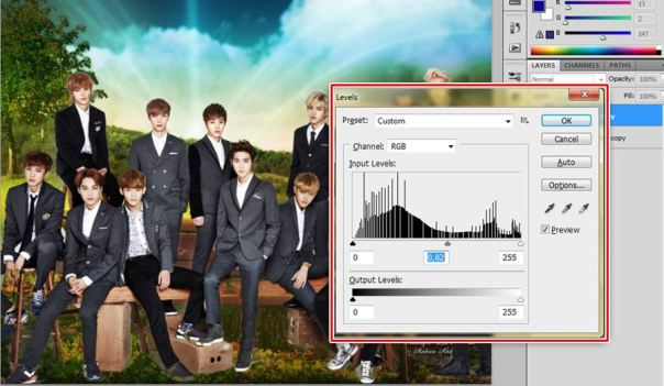[Tutorial and Stocks] How To make Nature Wallpaper Using Photoshop Exo Version 3