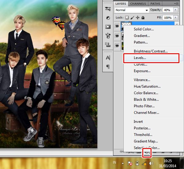 [Tutorial and Stocks] How To make Nature Wallpaper Using Photoshop Exo Version 6