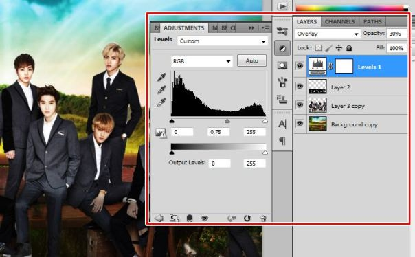 [Tutorial and Stocks] How To make Nature Wallpaper Using Photoshop Exo Version 8
